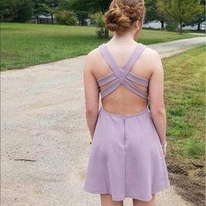 Light purple sparkly Windsor Store dress